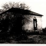 שריד אחרון מבתי שלזינגר, גן השומרון בשנות ה-60.
