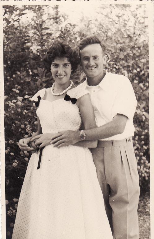 אילנה ומיכאל ביום חתונתם